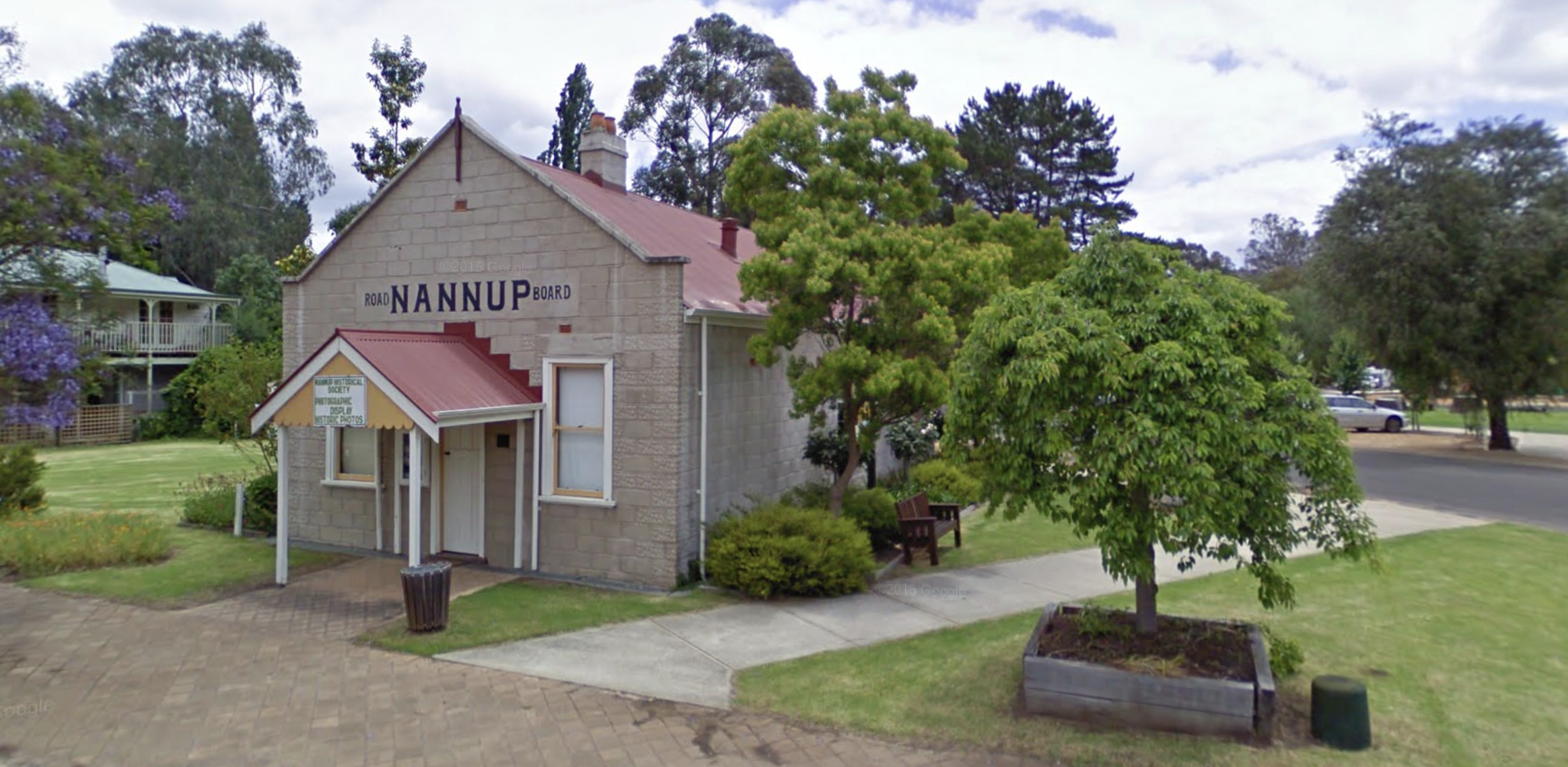 Nannup Historical Society building