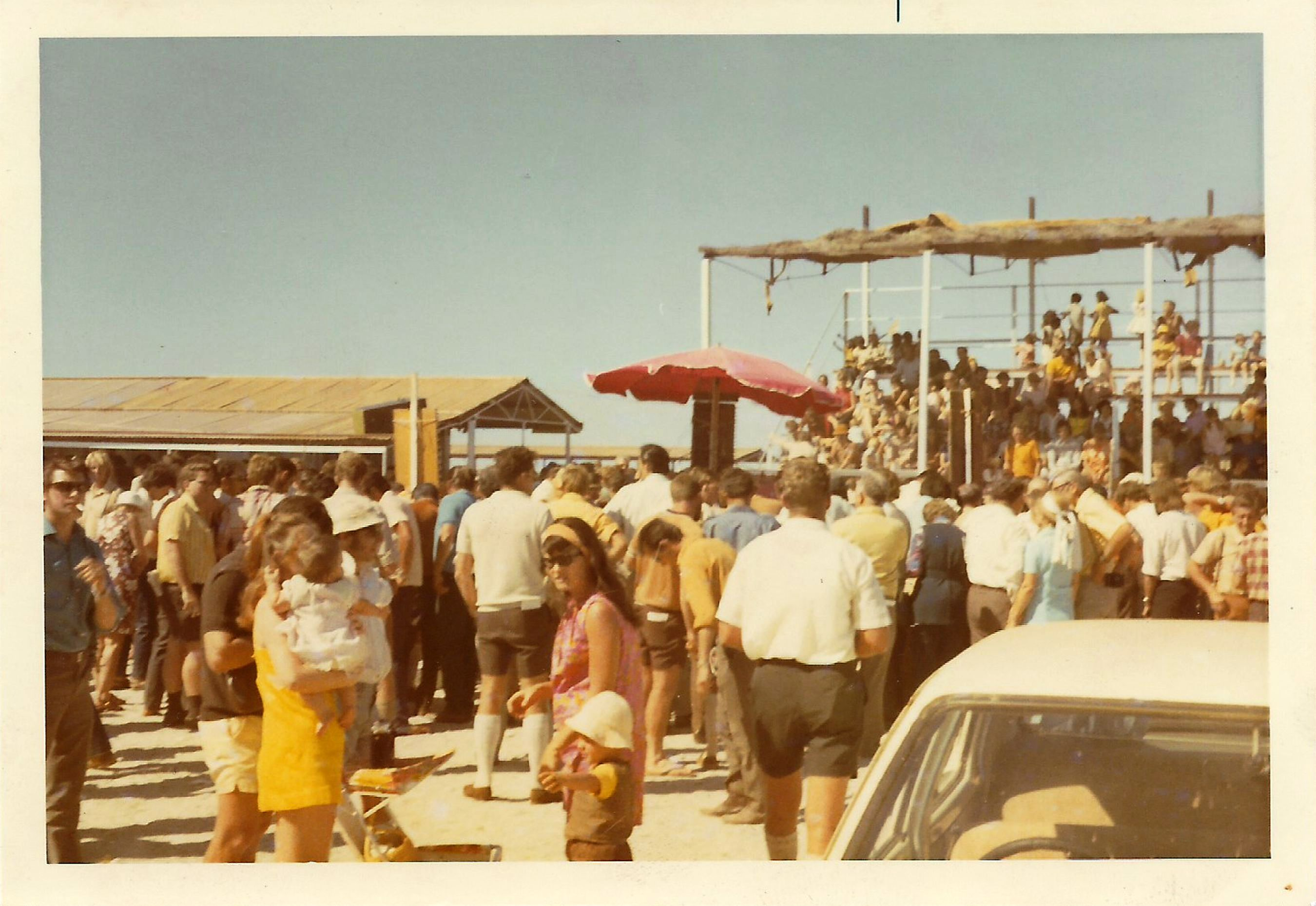 Crowds at Roebourne Races