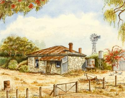 Old Cottage - Wanneroo, T. Thompson